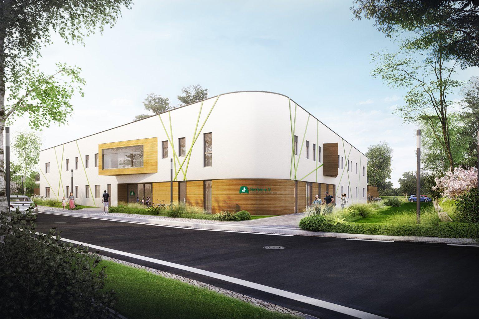 Visualisierung - Kita Cleudner Straße 38 - Malios Projektentwicklungs GmbH